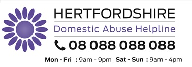 Hertfordshire Domestic Abuse Helpline 08 088 088 088